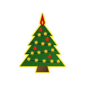 Christmas tree by vdBurg