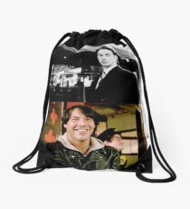 Keanu Reeves Drawstring Bag