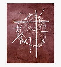 Religious Cross symbol Photographic Print