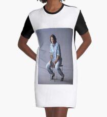 Keanu Reeves Graphic T-Shirt Dress