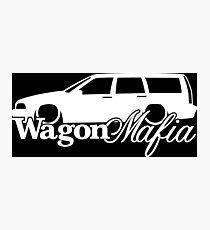 WAGON MAFIA - for Volvo V70 1st gen 1997-2000 enthusiasts Photographic Print