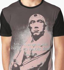 Yukio Mishima Graphic T-Shirt