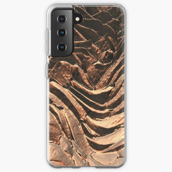 Macro Copper Abstract Samsung Galaxy Soft Case