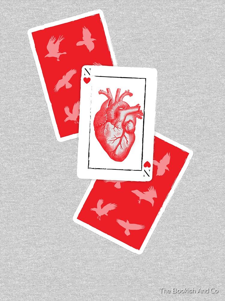 Nina de corazones: seis de cuervos de isabellarrazola