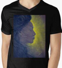 Light of beauty Mens V-Neck T-Shirt