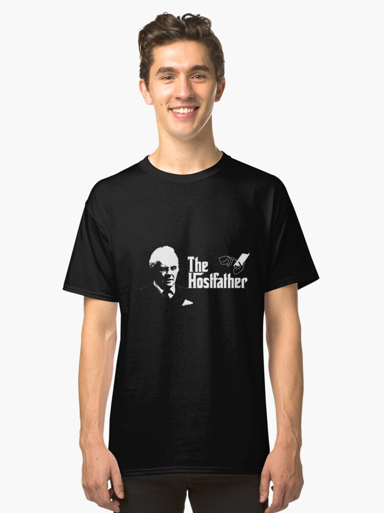 The Hostfather Classic T-Shirt Front