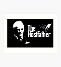 The Hostfather Art Print