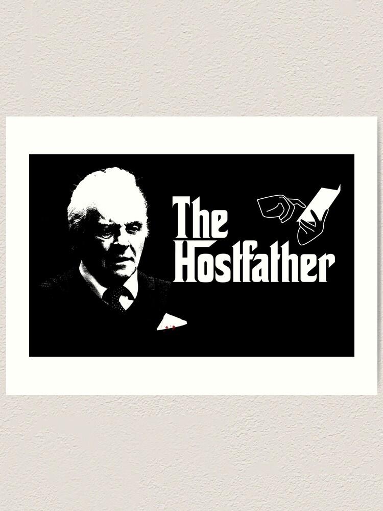 Alternate view of The Hostfather Art Print
