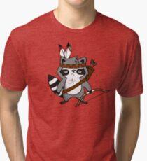 Apache The Raccoon Tri-blend T-Shirt