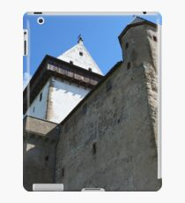 medieval castle against the sky iPad Case/Skin