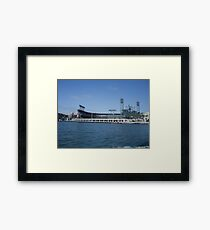 Giants stadium Framed Print