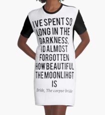 The corpse bride, so long in the dark Graphic T-Shirt Dress