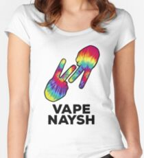 Vape Naysh - Tie Dye - Shirt Women's Fitted Scoop T-Shirt