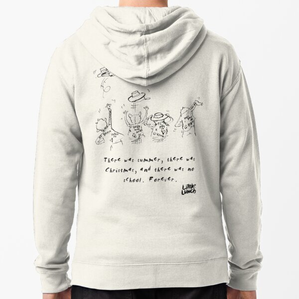 Little Lunch: The Nightmare Before Graduation Zipped Hoodie