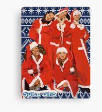 Spice Girls Christmas  Canvas Print