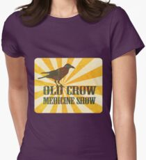 Old Crow Medicine Show Rusty Sign Womens Fitted T-Shirt