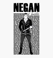 negan Photographic Print