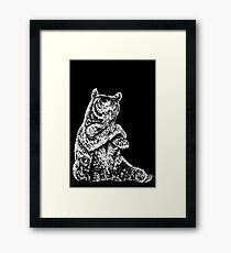 Cool Bear Framed Print