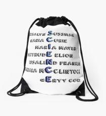 Women Of Science Drawstring Bag