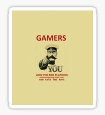 WANTS YOU! Sticker