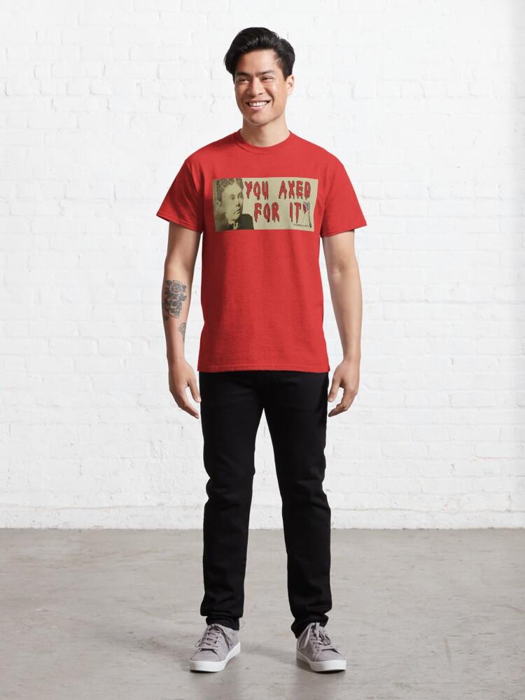 Alternate view of Lizzie Borden Classic T-Shirt