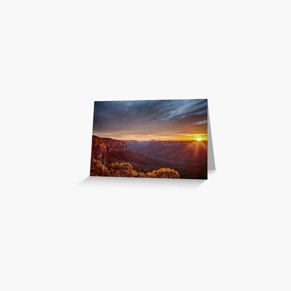 Govetts Sunrise Greeting Card