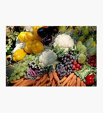Variaty of vegetables Photographic Print