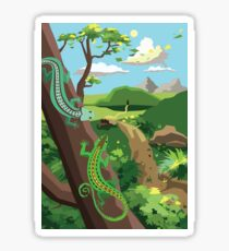 Lizards Sticker