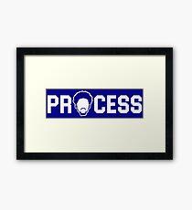 Process Framed Print
