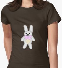 Bunny toy  Womens Fitted T-Shirt