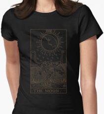 The Moon Tarot Women's Fitted T-Shirt