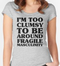 Too Clumsy Women's Fitted Scoop T-Shirt