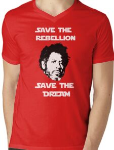 Rogue One - Save the Rebellion, Save the Dream Mens V-Neck T-Shirt