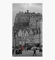 Edinburgh Phone Box Photographic Print