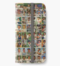 Baseball Card Dreams - 1952 iPhone Wallet/Case/Skin