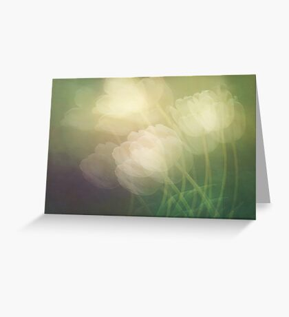 Petals in the wind Greeting Card