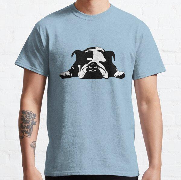 Lazy Bulldog Funny Pet Parent Tshirt Classic T-Shirt