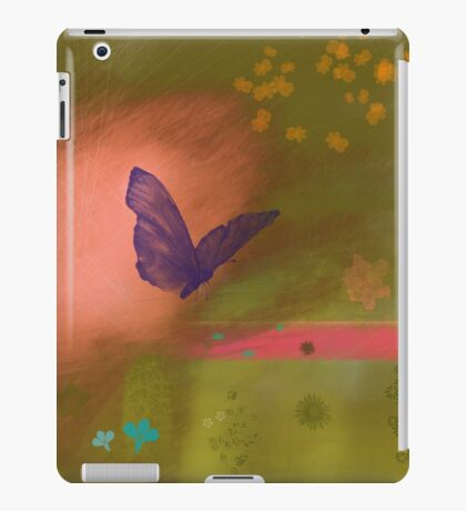 Butterfly fields iPad Case/Skin