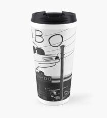 Modern Baseball Logo Travel Mug