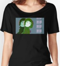 Vaporwave Anime Girl Women's Relaxed Fit T-Shirt
