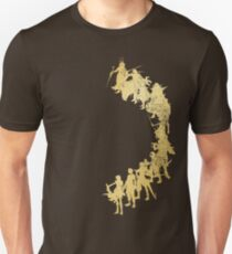 Heroes of the Fantasy (gold edition) Unisex T-Shirt