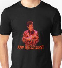 David S. Pumpkins - Any Questions? VI T-Shirt