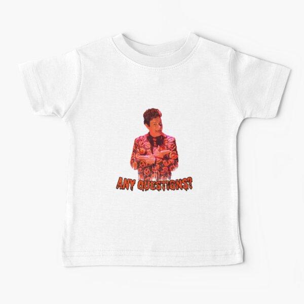 David S. Pumpkins - Any Questions? VI Baby T-Shirt