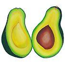 Avocado  by marlene veronique holdsworth