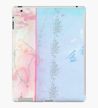 Blue winter dreaming iPad Case/Skin