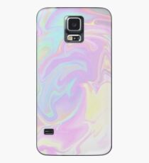 Pink Cotton Candy Holographic Case/Skin for Samsung Galaxy