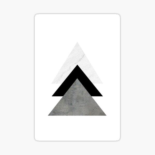 Arrows Collages Monochrome Sticker