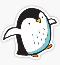 Arctic Penguins Sticker