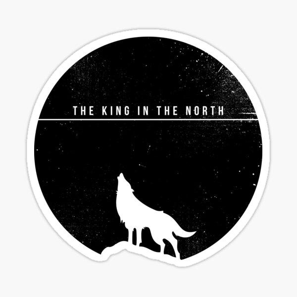 Le roi au nord Sticker