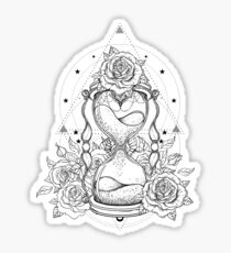 Hourglass Sticker